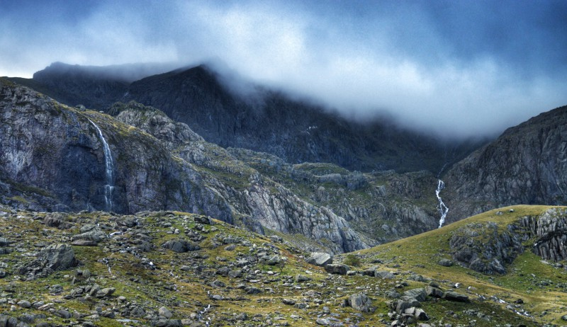Norsk fjellandskap.