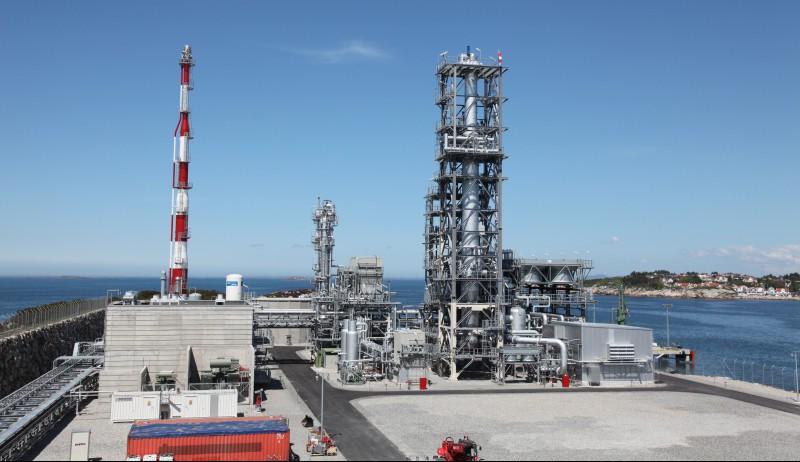 LNG-anlegget i Risavika.