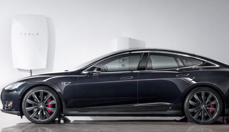 Tesla på taket