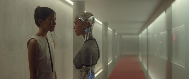 Alicia Vikander som Ava i Ex Machina. Foto: Mongrel Media. © Universal Pictures