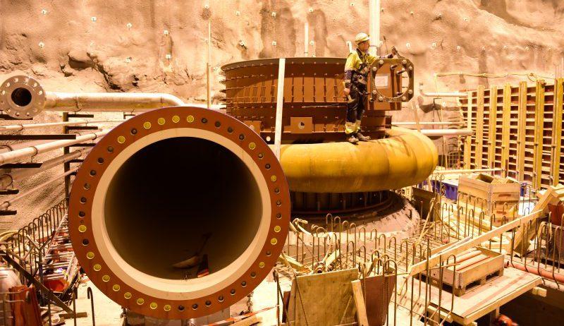 Bygger fremtidens vannkraft iLysebotn