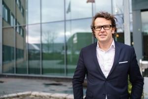Bilde av administrerende direktør i Altibox, Thomas Skjelbred.